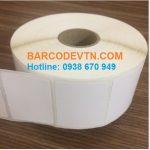 Cuộn giấy decal in mã vạch tem nhãn nhiệt barcode