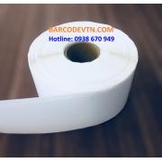 Giấy decal in mã vạch PVC 1 tem 40×220 mm