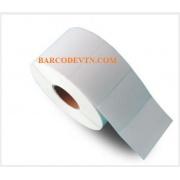 Giấy decal in nhãn mã vạch barcode 90×60 cuộn 50m