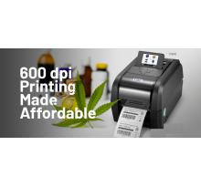 Máy in tem nhãn mã vạch barcode giải pháp in ấn 600dpi