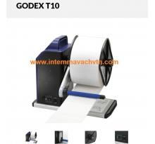 Máy quấn giấy Godex T10 dùng quấn decal cuộn