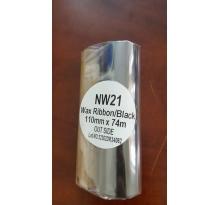 Mực in mã vạch wax premium NW21 110×74