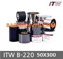 Ribbon mực in mã vạch ITW B220 110x300m
