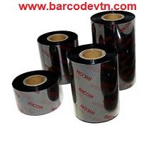 Ribbon mực in mã vạch wax B115w 90×300 nhật bản
