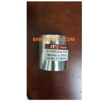 Ribbon mực in mã vạch wax b220 70×300