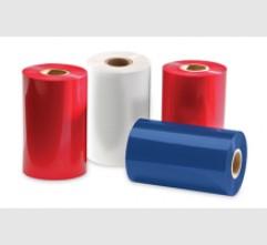 Ribbon mực in mã vạch wax resin màu cho ngành thực phẩm