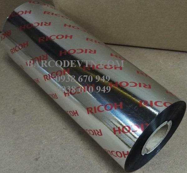 Mực in mã vạch wax resin B110A 170×300 ricoh Hồ Chí Minh
