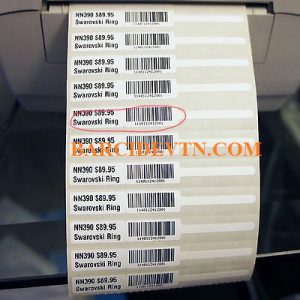 Mực in mã vạch wax resin