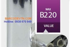 Mực in mã vạch wax B220 nâng cấp nhựa sáp hàn quốc