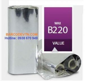 Mực in mã vạch wax B220