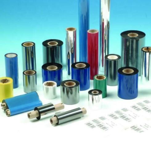 Ribbon in mã vạch resin R300 60×90-Mực in mã vạch